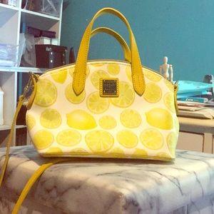 Dooney and Bourke lemon purse.